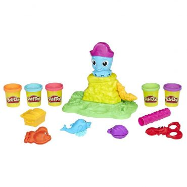 Play-Doh Oyuncu Ahtapot